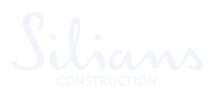 Logo silians Construction blanc