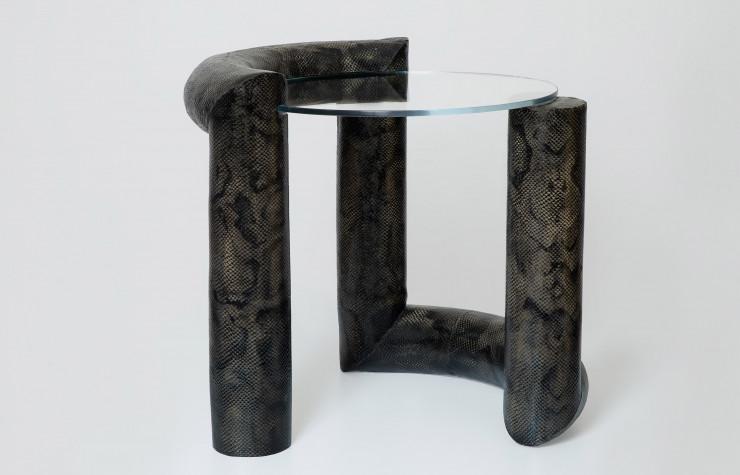 Présentation de la collection Serpentine en collaboration avec la designeuse Bina Baitel dans le cadre du programme d'incubation French Design à Paris.